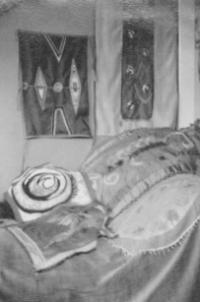 Georgette Klein frühe Textilien
