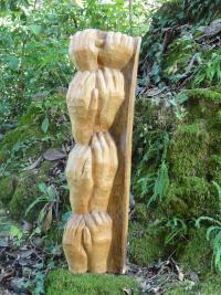 Georgette Klein Skulptur Hände