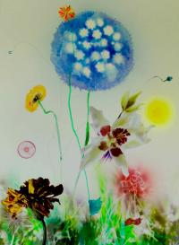 Thierry Feuz Mixed-Media-Collage Sciaredo 6_2016