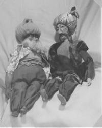 Georgette Klein Marionetten Saffa 28