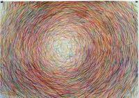 Nido Acryl auf Papier  70x100 cm  2013